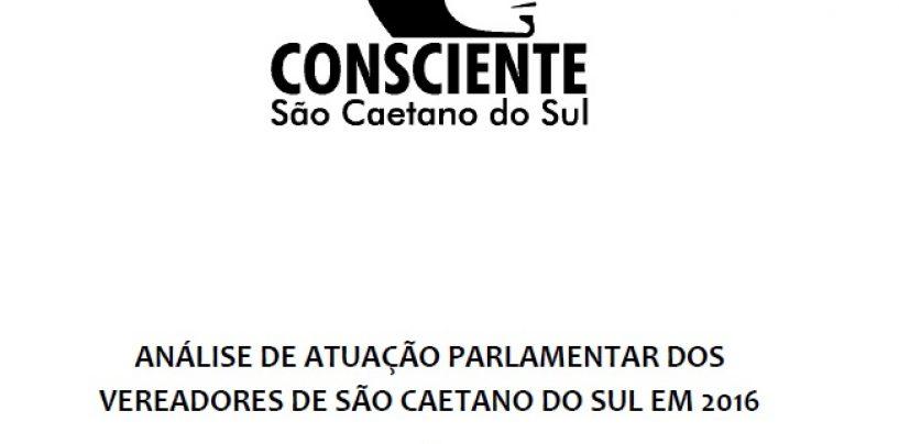 Voto São Caetano lança estudo de avaliação dos vereadores